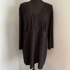 Antthony Originals Long Sleeve Pop Over Blouse